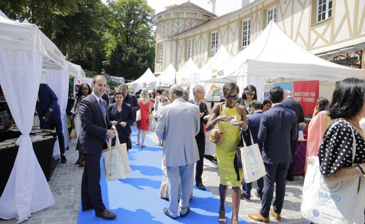 tentes pliantes V3 garden lors de la diplomatic garden party